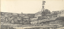 f.11   'View of the Fort, Cannanore, from the Saluting Battery.'